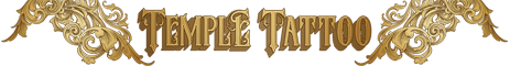 Temple Tattoo Logo